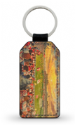 broomfield park  PU Leather Keyring Printed Both Sides